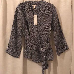 Eileen Fisher handwoven sweater jacket